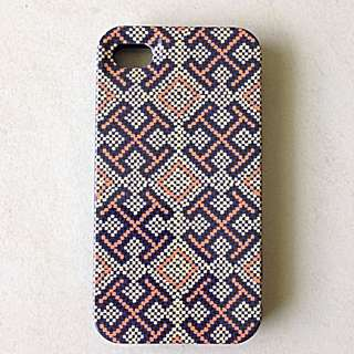Tory Burch IPhone 4/4s Hard 3 Step Click on Case