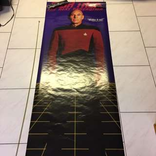 Captain Picard Poster Life Size