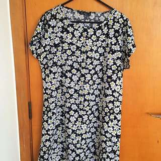 Daisy Print Shirt/dress