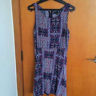 Gorgeous Print Dress - Medium