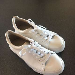White ASOS sneakers