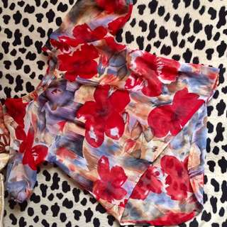 Floral Chiffo Blouse