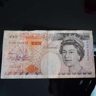 Old Series British £10