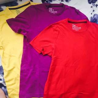 Giordano Slim Fit Shirts 330 only for all three