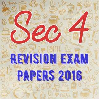 O LEVEL SEC 4 EXAM PAPER 👍 START YOUR REVISION NOW!!!
