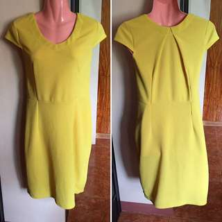 Yellow Casual Dress