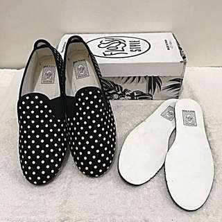 Flossy Slip On Shoes