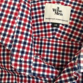 3 Wise Men Shirt- Size 38