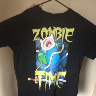 """Glow In The Dark Adventure Time """"Zombie Time."""""""