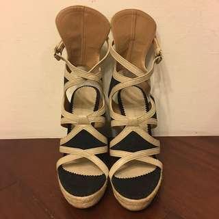 Balenciaga羅馬楔型涼鞋36號