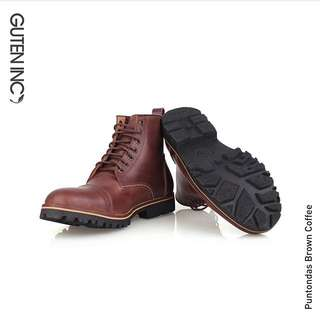Boots Coklat (NEW) Uk42
