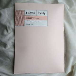 NEW Frank Body Scrub 200g