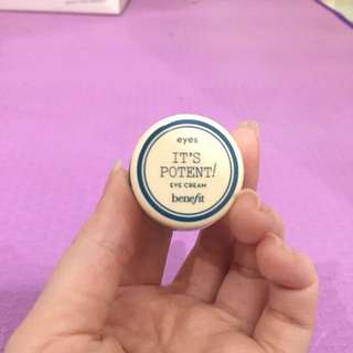 It's potent! dark circle eye cream brightening eye cream to fade dark circles - Benefit