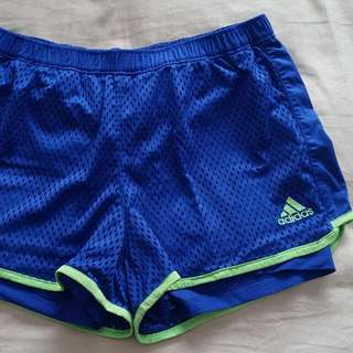 Adidas Shorts With Built In Spandex Size 12 #under20