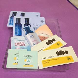Innisfree & Etude House Bundle