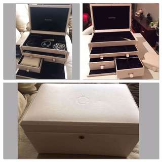 Jumbo Leather Pandora Jewellery Box
