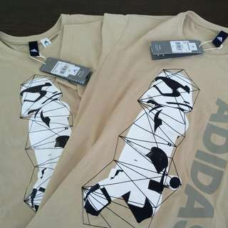 Star Wars Stormtroopers Adidas Top  Good For Couples!!!  $80 for One