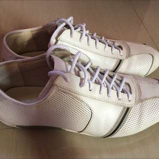 Italian White Shoes (FRATELLI)