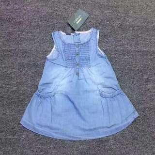 女童牛仔洋裝連衣裙❤️外貿款