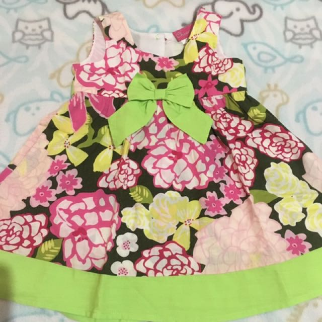 12M Baby Girl's Floral Dress