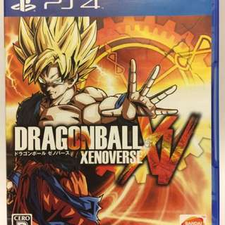 PS4 二手 龍珠 超宇宙 異戰 XV Dragon Ball Xenoverse XV 日版