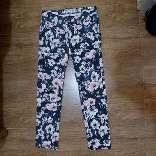 Cotton On Floral Denim Pants