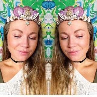 Mermaid Shell Crown
