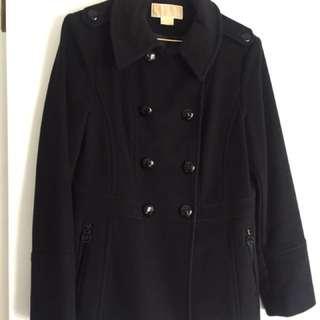 Michael Kors Black Winter Coat Size M