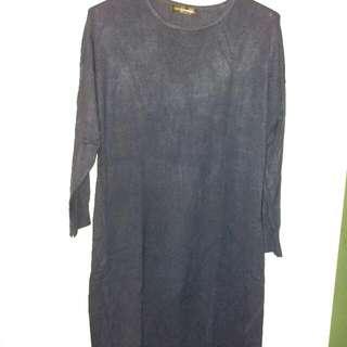 Sweater Dress Muslim