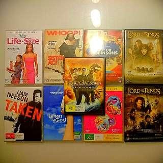 DVD Movies (9 Movies) ORIGINAL