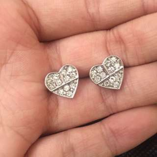 Oroton Heart Earrings