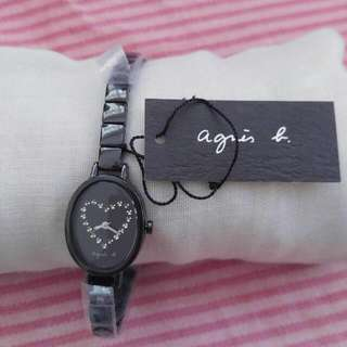 agnis b Watch 100%new