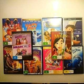 DVD Movies (10 Titles) ORIGINAL