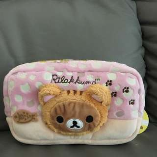 Rilakkuma Pencil Case (Sofy Furry Type)
