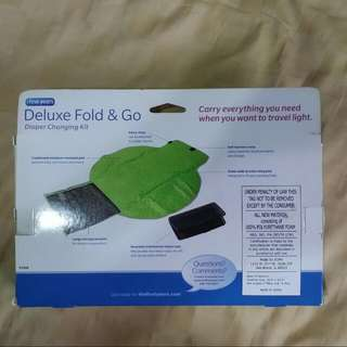Deluxe Fold & Go Diaper Changing Kit