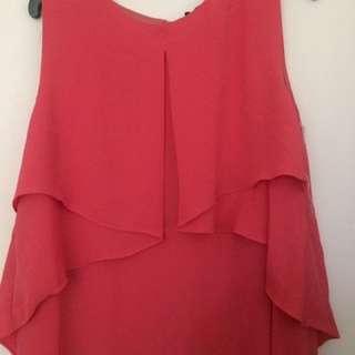 Coral Maxi Occasion Dress