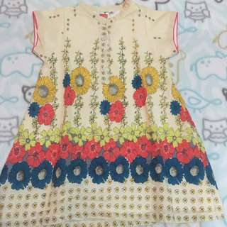 Baby Girl's Chinese Collared Dress