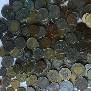 Coin Money ( Spain, India , Singapore,thailand , Israel, Etc)
