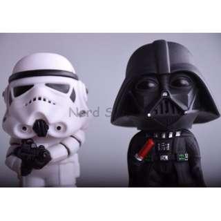 Star Wars Darth Vader Storm Trooper Mini Action Figure