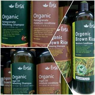 EPSA Organic Shampoo And Conditioner