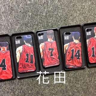 🚚 Iphone 6 6s 7 plus 灌籃高手 立體浮雕 全包軟殼 黑邊 不發黃