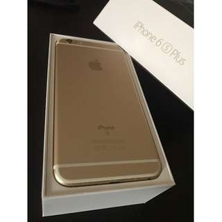 iPhone 6s plus 64 GB Gold - selling fast