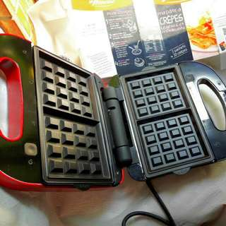 日式鬆餅機+五款多功能烤盤#運費我來出