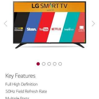 """LG 49"""" SMART Full HD TV 49LH600T"""