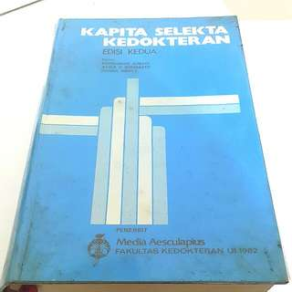 Buku kapita Selekta Kedokteran edisi 2
