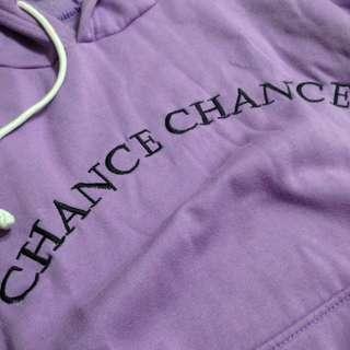CHANCE CHANCE 紫紫連帽T