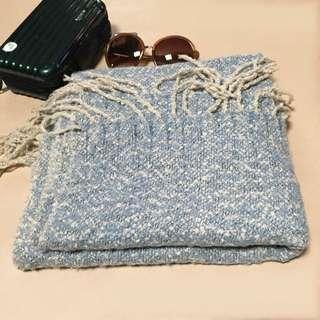 全新韓版圍巾,材質柔軟