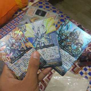 Cardfight Vanguard RRR and RR Japanese Cards