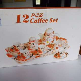 12 Pc Coffee Set