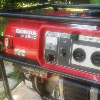 Genset Honda Japan Em2500x